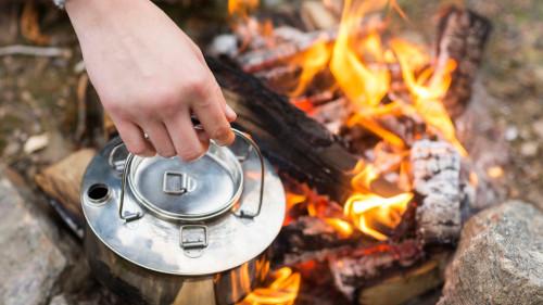 Verbrennungen durch Feuer und Hitze